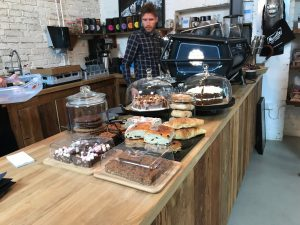 Musette Cafe cakes
